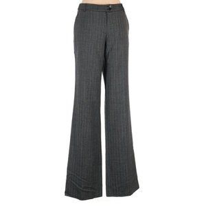ETRO High Rise Wide Leg Wool 34″ Waist Pants